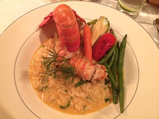 Restaurant House Piccolo: Lobster Risotto
