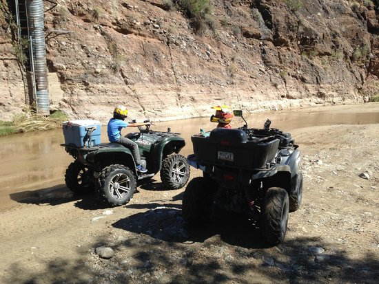 Adventures of a Lifetime ATV: Box Canyon Riding through the Sand and Water