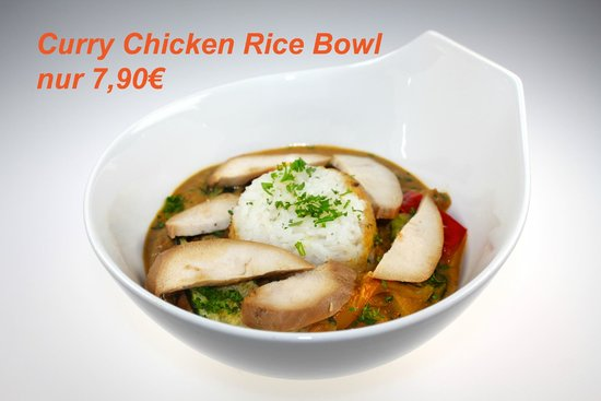 Fresh Choice: Fruity Chicken Curry with Rice