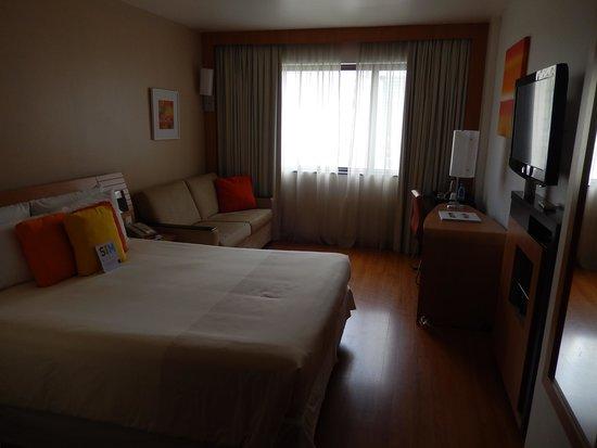 Novotel RJ Santos Dumont : My room in the Novotel
