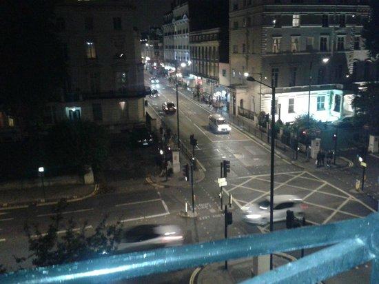 Royal Eagle Hotel: vista desde la ventana