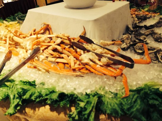 Allgauer's Restaurant: Seafood buffet