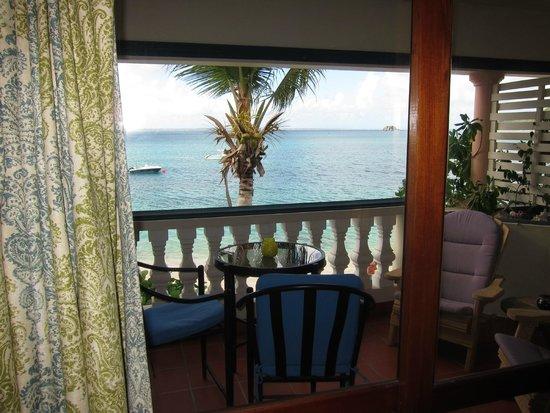 Le Petit Hotel : blacony view