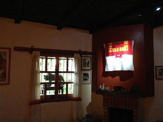 Casa Na Bolom: chimenea