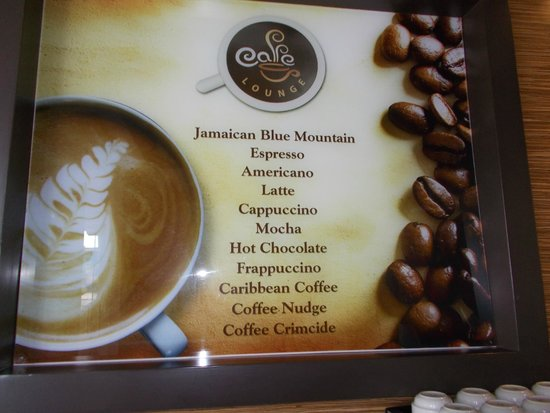 Royalton White Sands Resort : coffee shop
