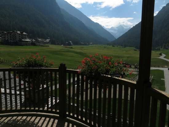 Hotel Sant'Orso: View from our balcony