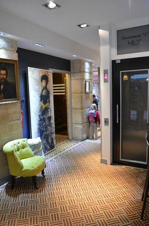 Hotel Excelsior Latin: L'ascensore