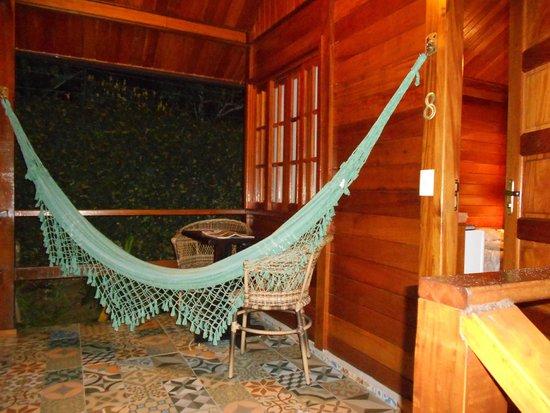 Aratinga Inn: Balcon de la habitacion