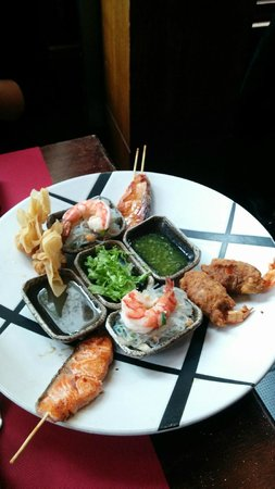 Mondol Kiri : entrée menu poisson