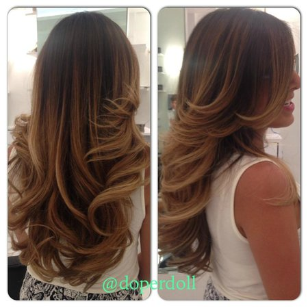 Blonde Balayage Ombre Haircut Doperdoll Picture Of