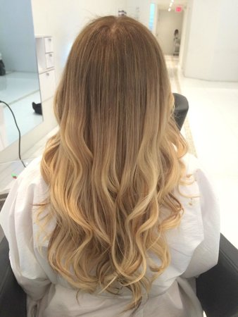 Natural blonde balayage ombre picture of doperdoll coral gables doperdoll natural blonde balayage ombre urmus Images