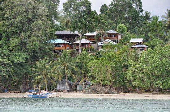 Bunaken Island Resort: Hotelansicht
