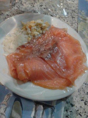 El Rincon de Carmen: Salmone marinato