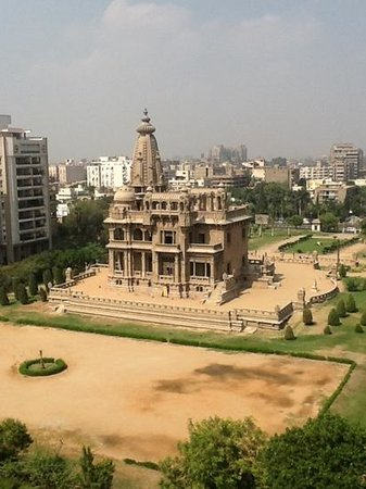 Baron Hotel Heliopolis Cairo: the view from my room