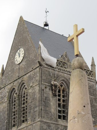 Dale Booth Normandy Tours: Paratrooper Remembrance at Sainte-Mere-Eglise