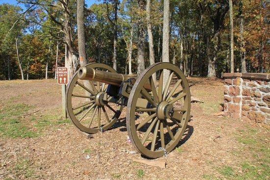 Ball's Bluff Battlefield Regional Park: Canon