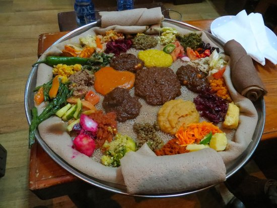 National dish fasting vegetarian picture of yod for Authentic ethiopian cuisine