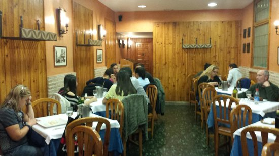 My son 39 s favorite meal in madrid picture of restaurante for Restaurante puerto rico madrid