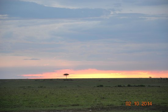 Fig Tree Camp : Sunset.... nature at its calmest best