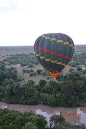 Fig Tree Camp : Balooning a Quiet Paradise