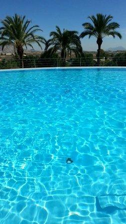 Balneario de Leana: Beutiful pool (30,5 degrees celcius)