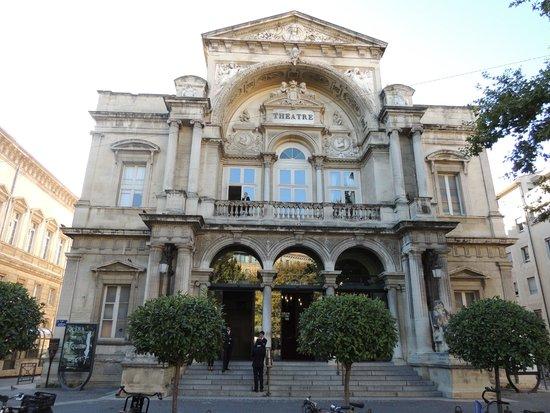 Opéra Théâtre d'Avignon : Facciata
