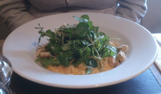 The Diggers Rest: Squash Risotto with rocket