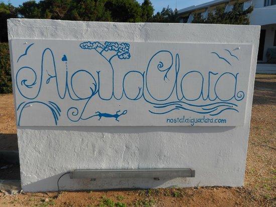 Hostal Aigua Clara: Eingang