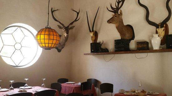 Finca Los Pastores: Comedor: desayuno y cena