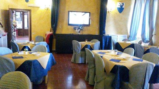 Miravalle Palace Hotel: Breakfast room.