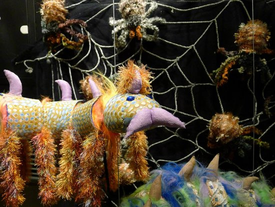 NUKU theatre & puppetry museum: insect puppets