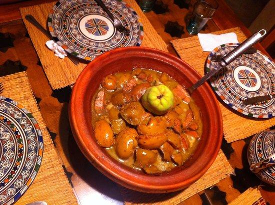 Dar KamalChaoui: wonderful Naimaa food