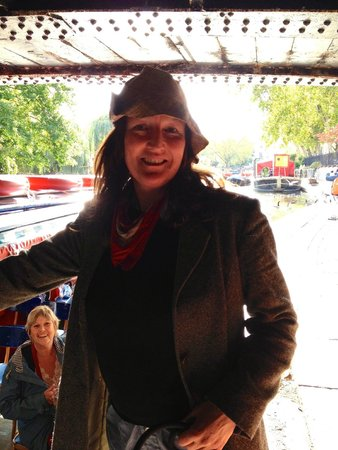 Walker's Quay Canal Cruises: EMMA: Best Boat Tour Guide in London