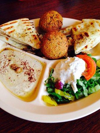 Sahara Cafe : Sampler was a delicious!