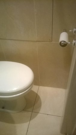 Balmore House: Toilet not enough room to put your legs staight