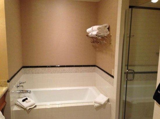 McMillin Suites at Roche Harbor Resort : Tub