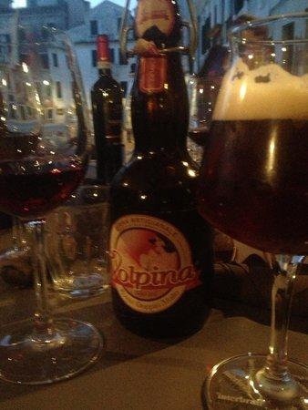 Birraria La Corte: Excellent wine & beers