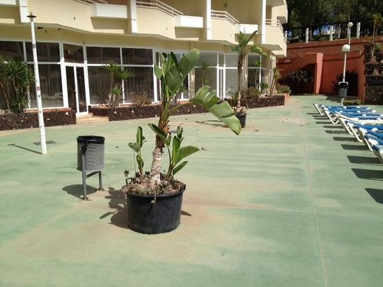 Parque Verde: les abords de la piscine