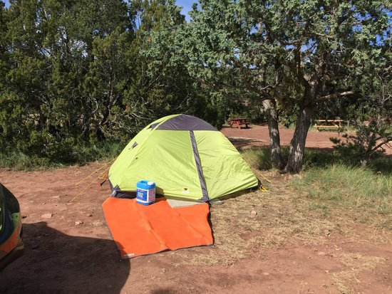 Campsite at Turquoise Trail Campground and RV Park