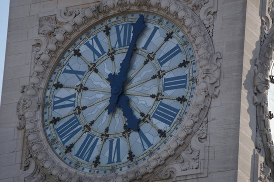 "Le Train Bleu : Gare de Lyon Clock ""Big Ben"""