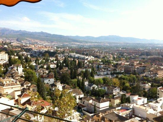 Hotel Alhambra Palace: la vista dalla terrazza dell'hotel
