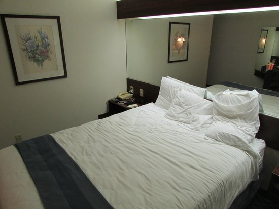 Microtel Inn & Suites by Wyndham Tulsa East: The Bed