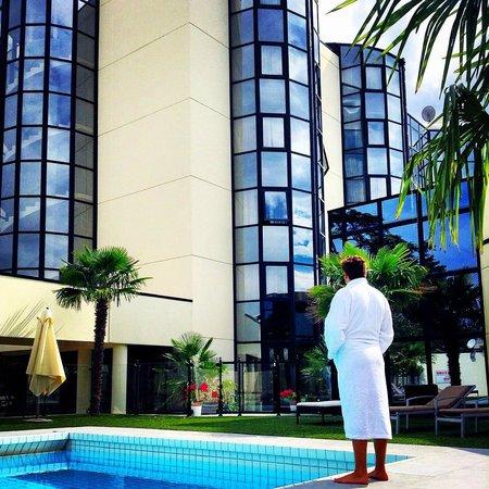 Hotel Palladia : Piscine