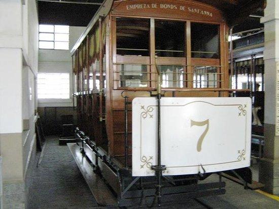 Transport Museum: Bonde de tração animal (replica)