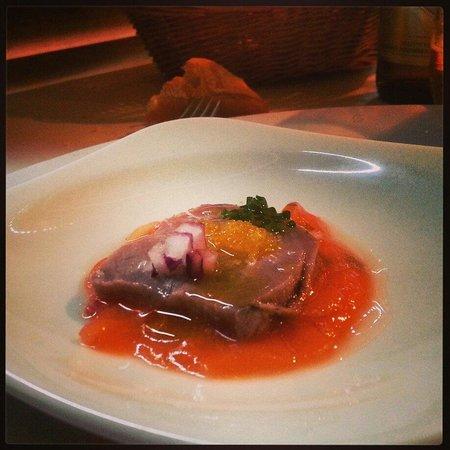 El Sordo Restaurante: Atún rojo en ceviche