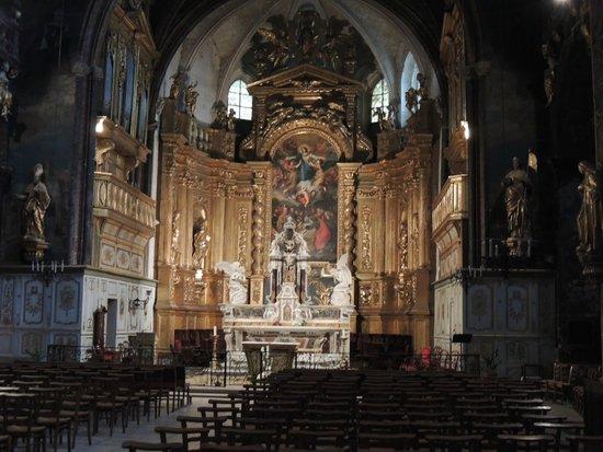 La Collégiale Notre Dame des Anges : Interno