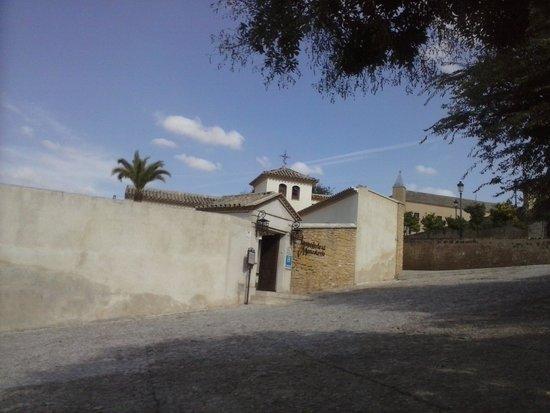 Hospederia del Monasterio: Fachada