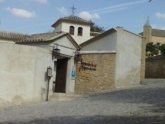 Hospederia del Monasterio: Aspecto exterior