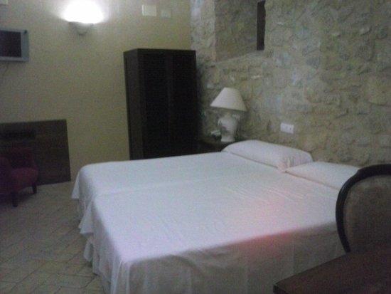 Hospederia del Monasterio: Habitación doble