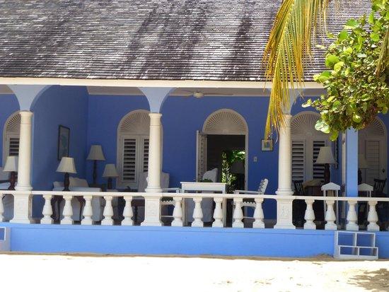 Jamaica Inn: chambres sur plage